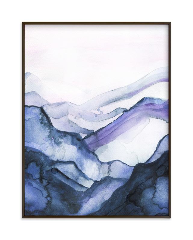 Drift Watercolor Children's Art Print
