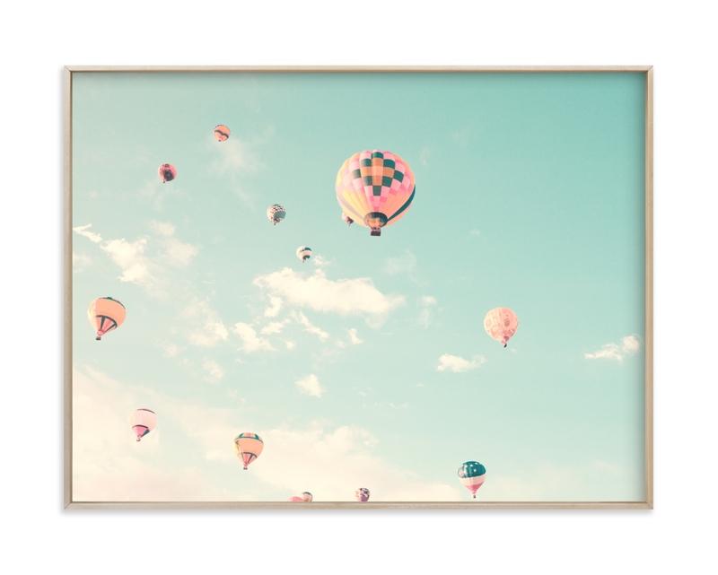 Sky Dreams Forever Children's Art Print