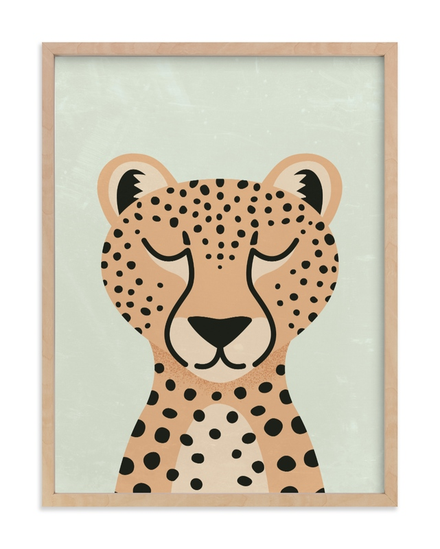 Cheetah Children's Art Print