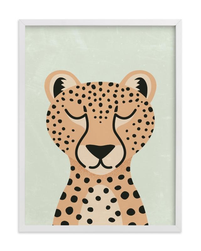 Cheetah Children's Art Print