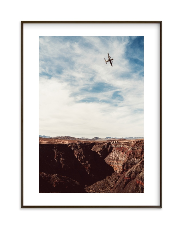 """""""Spartan Sky"""" - Limited Edition Art Print by Kamala Nahas in beautiful frame options and a variety of sizes."""