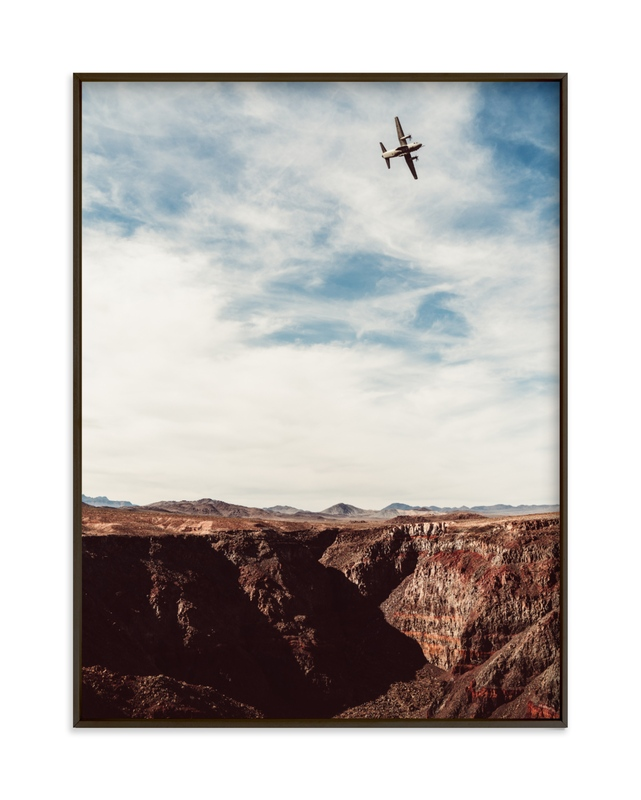 """Spartan Sky"" - Limited Edition Art Print by Kamala Nahas in beautiful frame options and a variety of sizes."