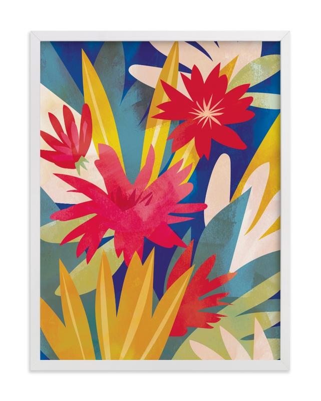 Tropical Bliss Children's Art Print