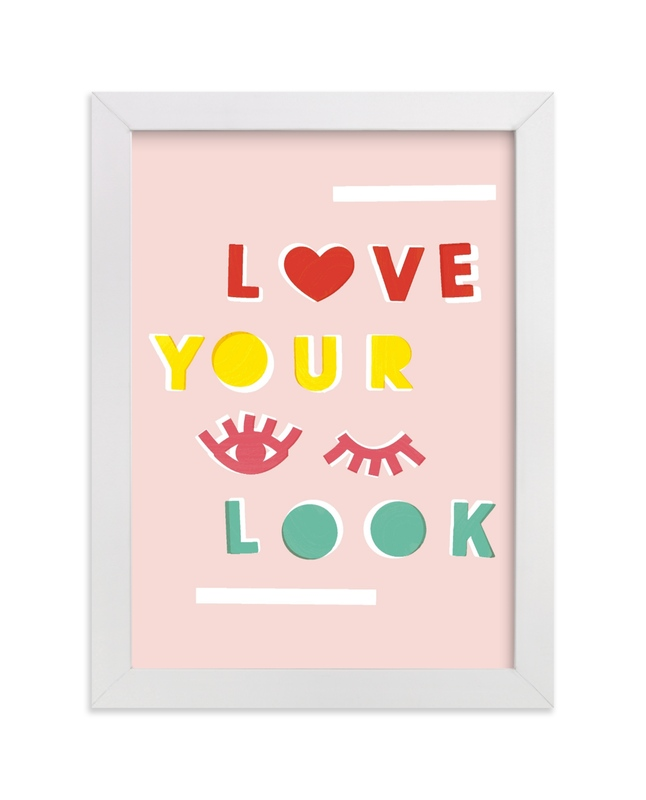 """Love Your Look"" - Limited Edition Art Print by Ariel Rutland in beautiful frame options and a variety of sizes."
