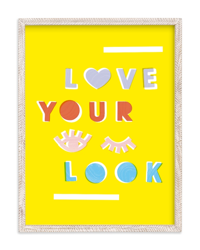 Love Your Look Children's Art Print