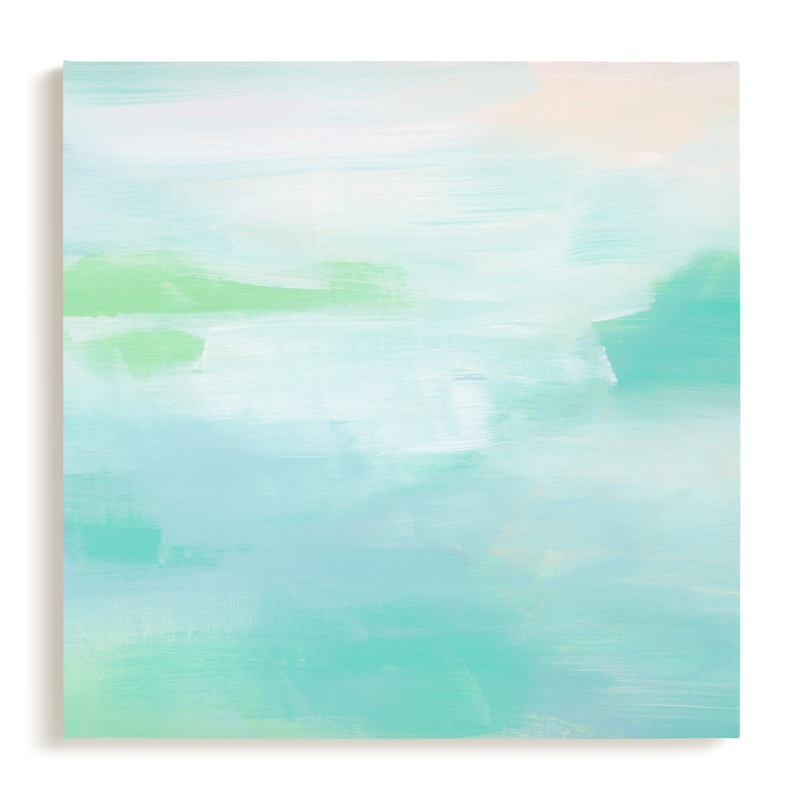 Hideaway Beach Children's Art Print
