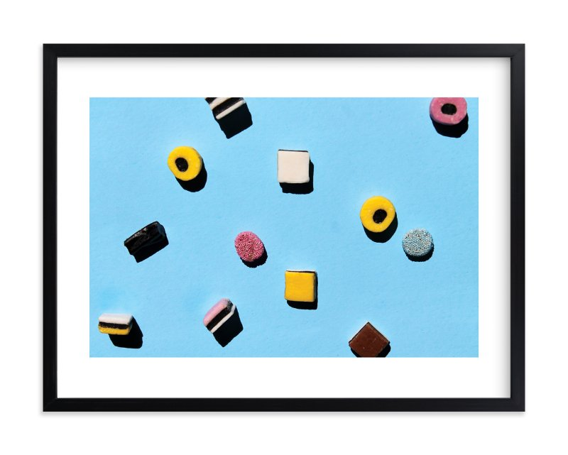 """Liquorice"" - Limited Edition Art Print by Laura Garner in beautiful frame options and a variety of sizes."