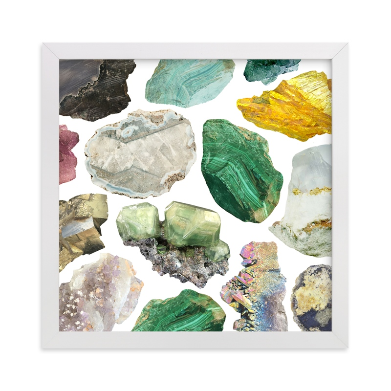"""""""You Rock"""" - Limited Edition Art Print by Baumbirdy in beautiful frame options and a variety of sizes."""
