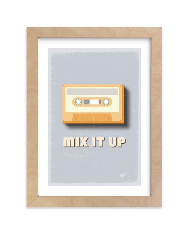 """""""mix it up"""" - Limited Edition Art Print by Julieta Urgilles in beautiful frame options and a variety of sizes."""