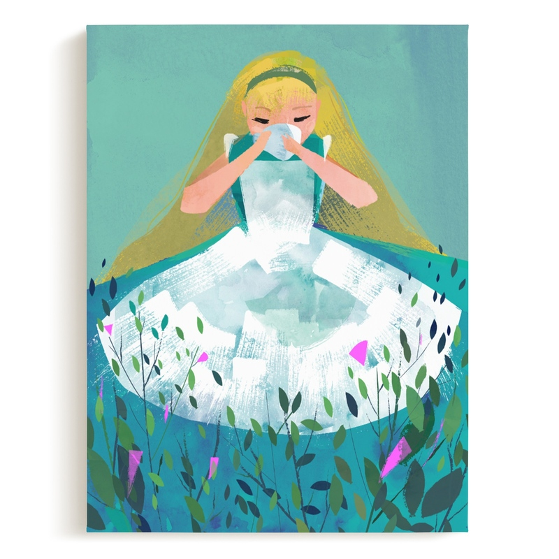 Alice Children's Art Print