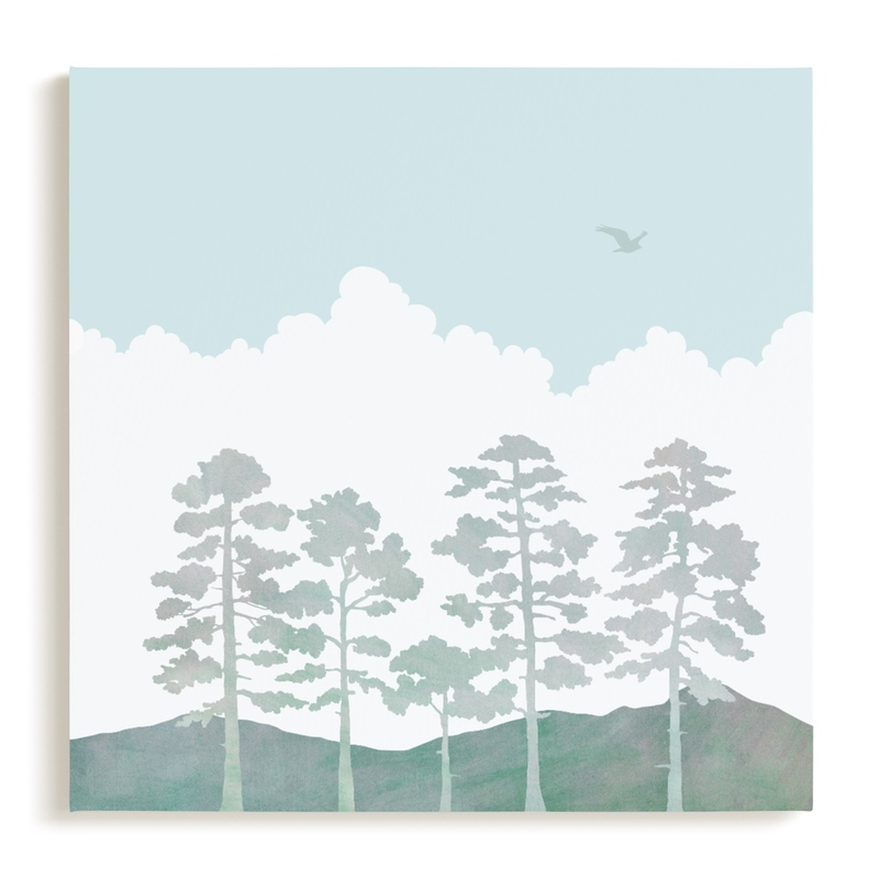 Treetops Children's Art Print