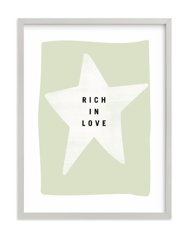 """""""rich in love"""" - Limited Edition Art Print by Lindsay Stetson Thompson in beautiful frame options and a variety of sizes."""