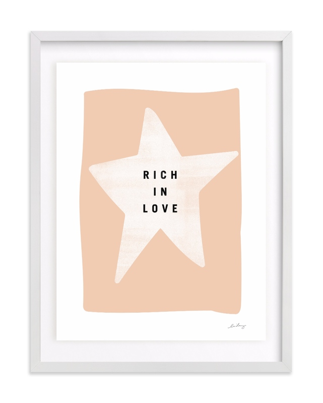 rich in love Children's Art Print