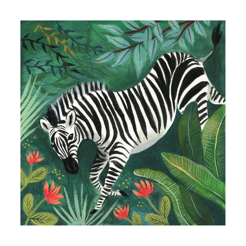Zebra Wall Art Prints By Emilie Simpson | Minted