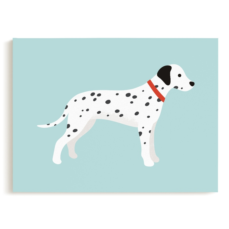 Dalmatian Children's Art Print