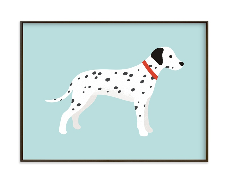 """""""Dalmatian"""" - Limited Edition Art Print by Kacey Kendrick Wagner in beautiful frame options and a variety of sizes."""