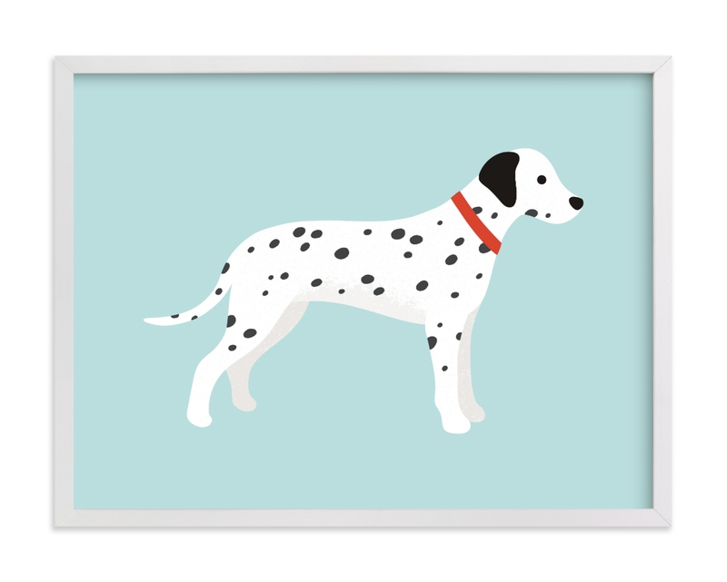 """Dalmatian"" - Limited Edition Art Print by Kacey Kendrick Wagner in beautiful frame options and a variety of sizes."