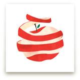 Peeled Apple by Morgan Ramberg