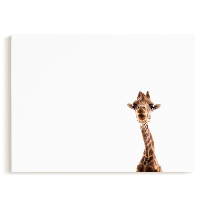 Hello up there! Children's Art Print