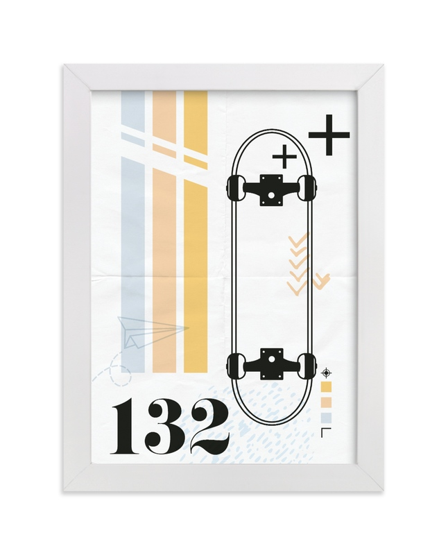 """""""No. 132"""" - Limited Edition Art Print by Hudson Meet Rose in beautiful frame options and a variety of sizes."""