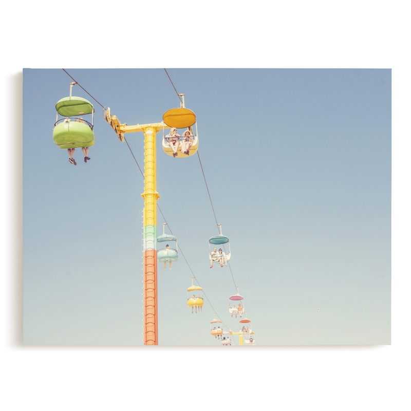 Sky Gliding Children's Art Print