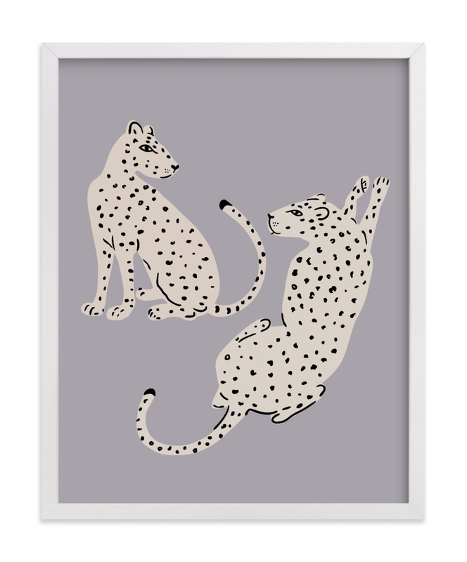 """""""Resting Cheetahs"""" - Limited Edition Art Print by Stellax Creative in beautiful frame options and a variety of sizes."""