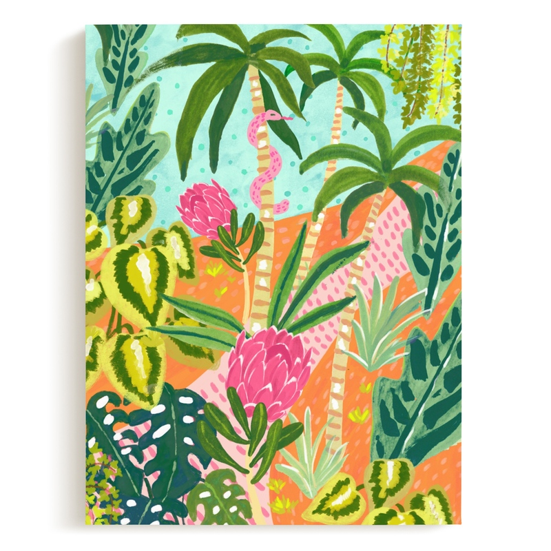 Magic Jungle Children's Art Print