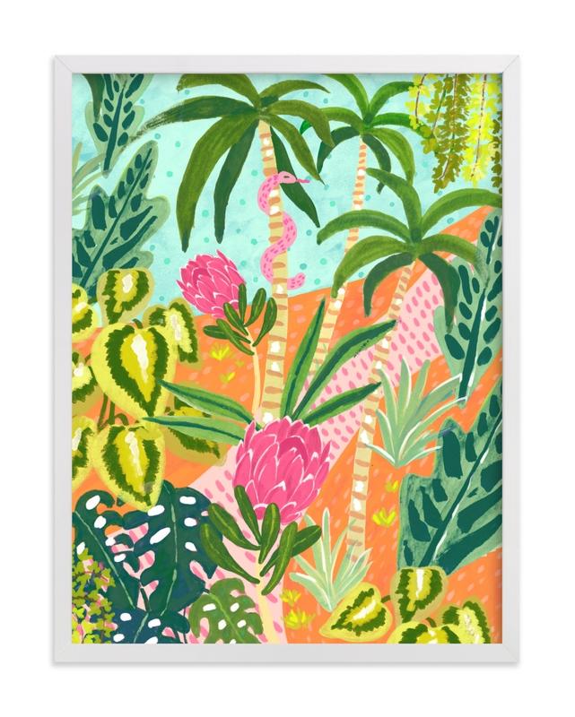 Magic Jungle Children's Art Print