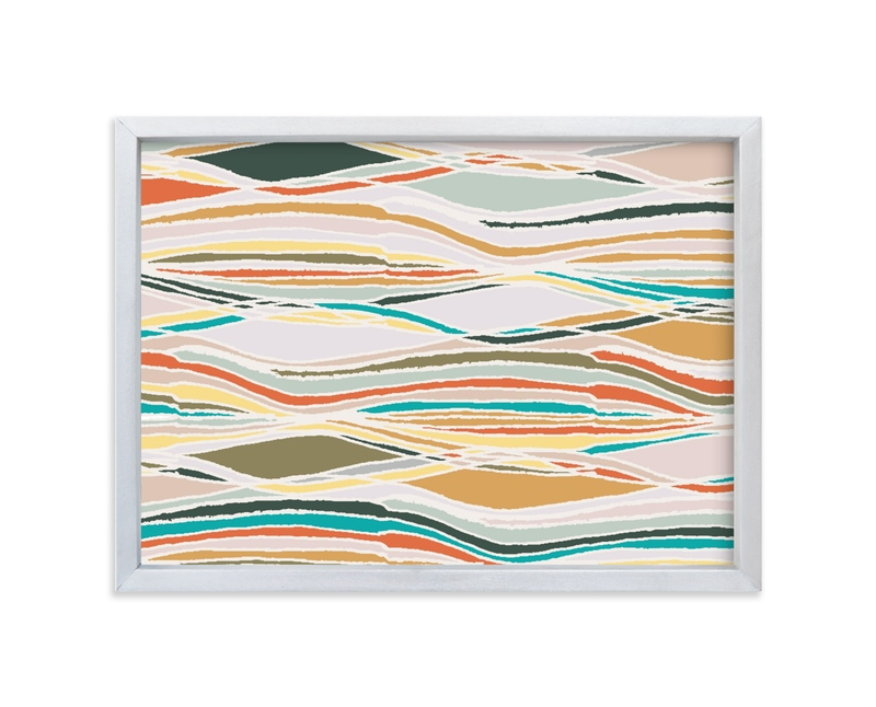 """""""Colorful landscapes"""" - Limited Edition Art Print by Bethania Lima in beautiful frame options and a variety of sizes."""