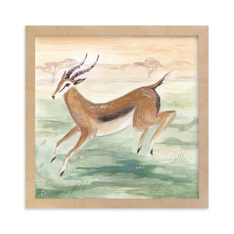 """""""Antelope"""" - Limited Edition Art Print by Emilie Simpson in beautiful frame options and a variety of sizes."""