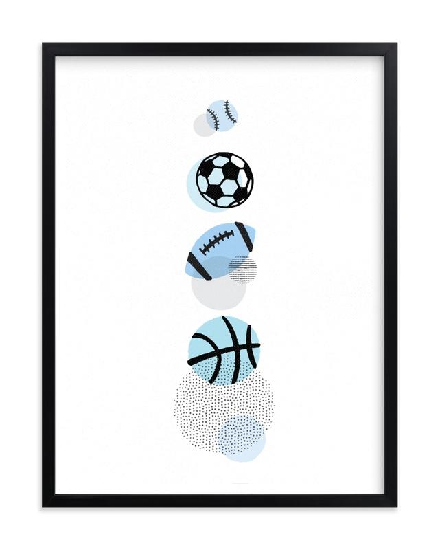 Pop Art Sports Children's Art Print