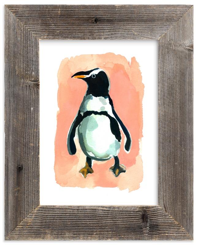 Penguin Wall Art Prints By Betty