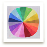 Color Wheel by melanie mikecz