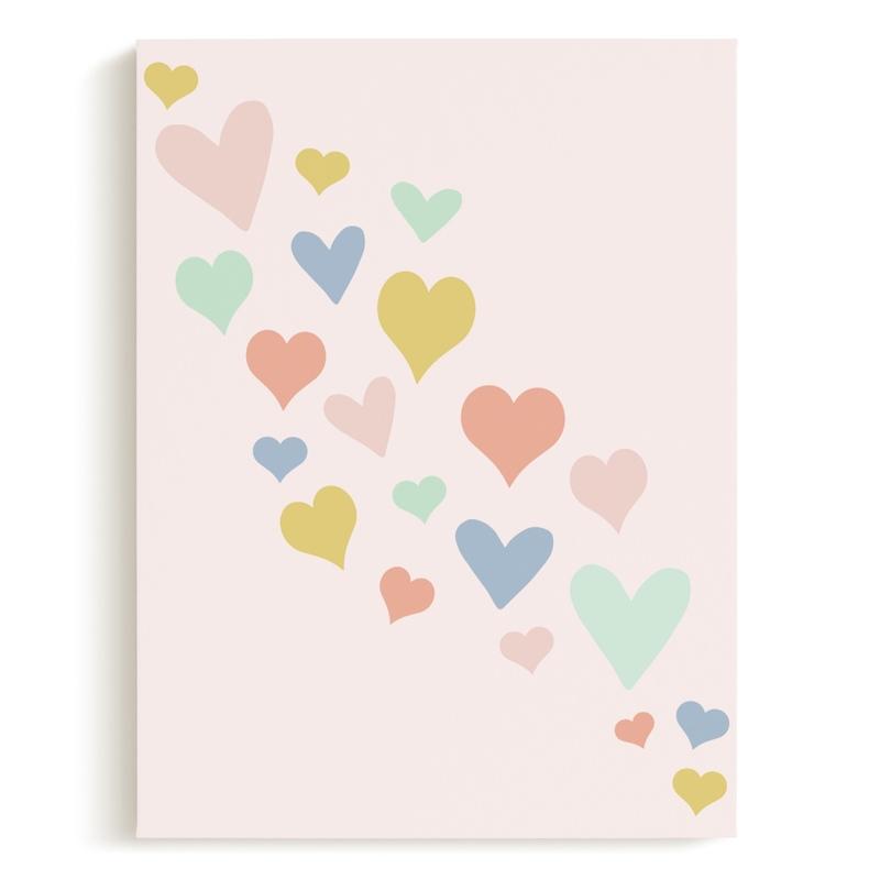 wave of love Children's Art Print