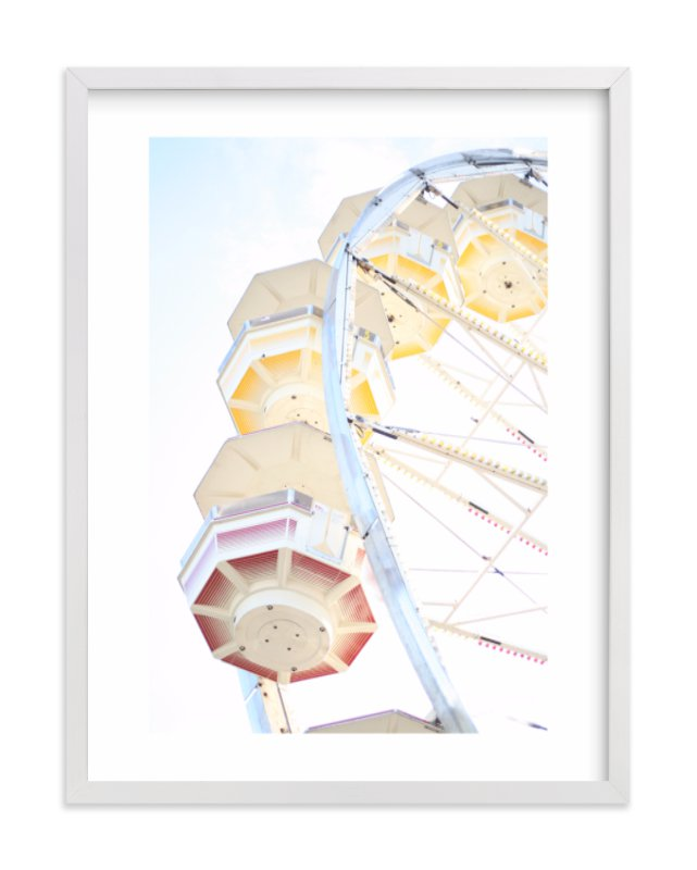 """Puyallup Merry Go Round"" - Limited Edition Art Print by Sharon Rowan in beautiful frame options and a variety of sizes."