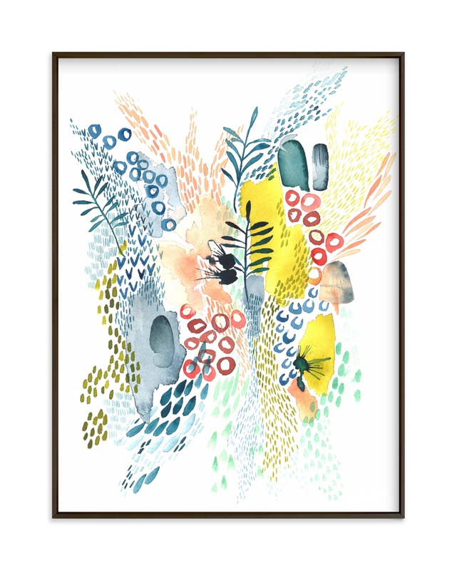 """""""Desert Patterns"""" - Limited Edition Art Print by Kara Aina in beautiful frame options and a variety of sizes."""