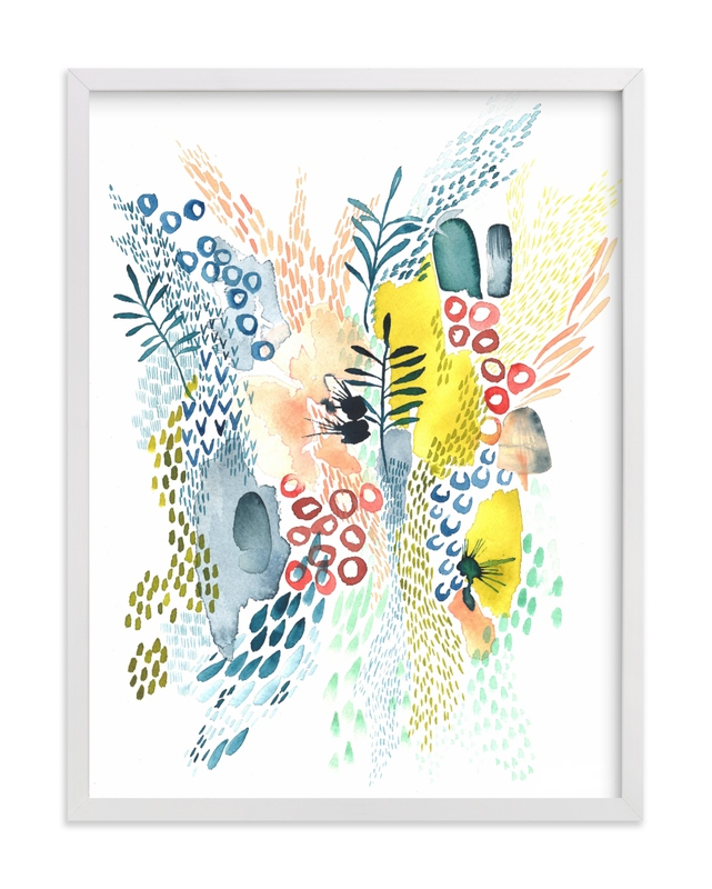 """Desert Patterns"" - Limited Edition Art Print by Kara Aina in beautiful frame options and a variety of sizes."
