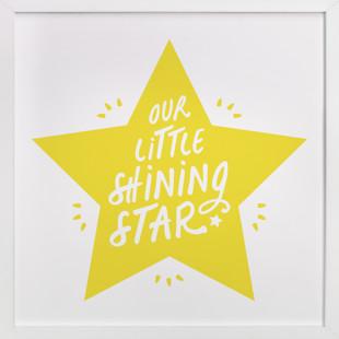 Shining Star Children's Art Print