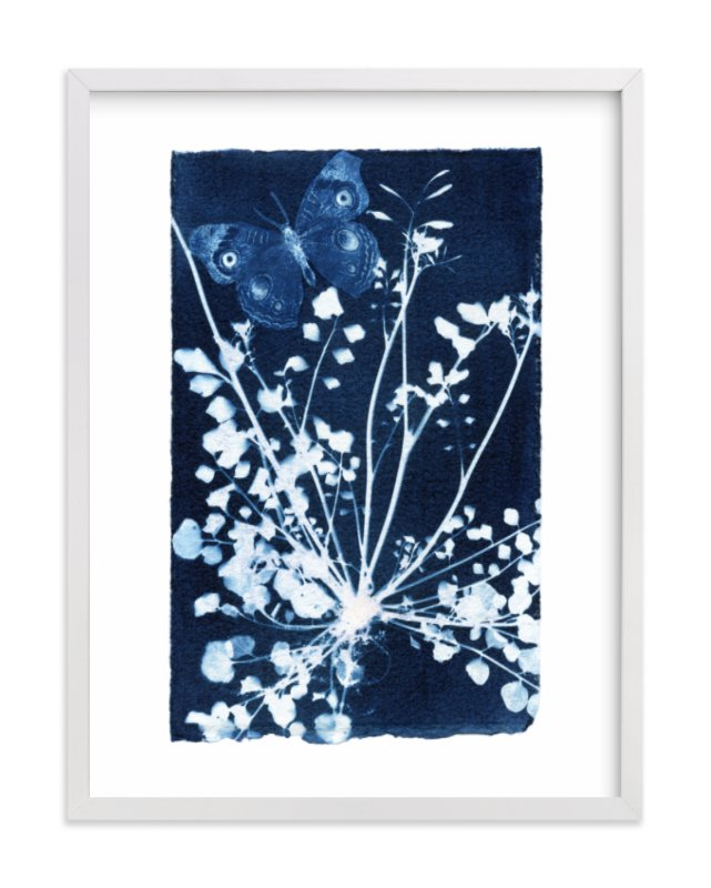 """Even weeds feed butterflies"" - Limited Edition Art Print by raven erebus in beautiful frame options and a variety of sizes."