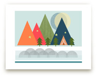 Gone Camping by Alison Jerry Designs