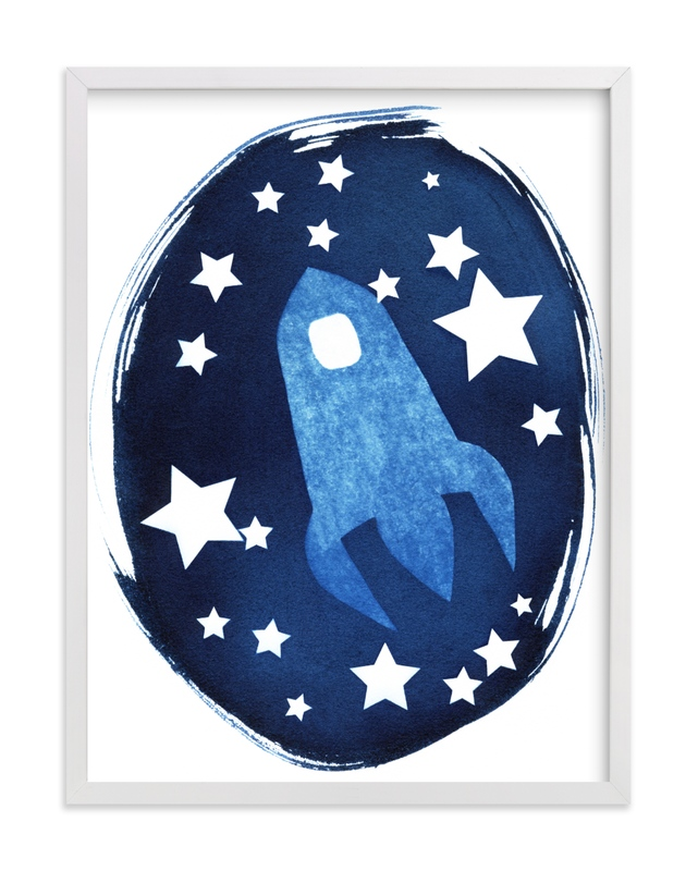 """""""To the stars and beyond"""" - Limited Edition Art Print by raven erebus in beautiful frame options and a variety of sizes."""