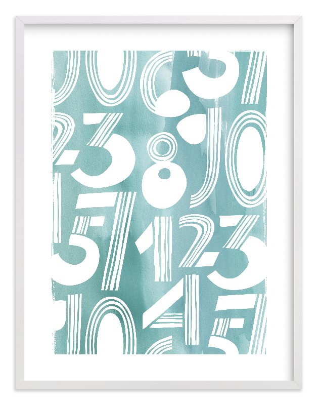 """Linear Counts"" - Limited Edition Art Print by Daniela in beautiful frame options and a variety of sizes."