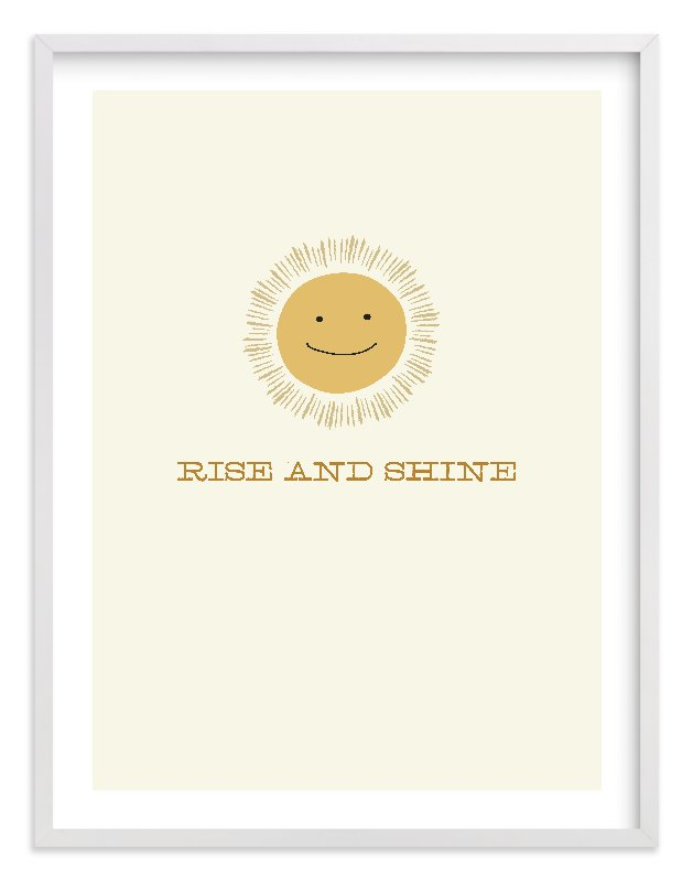 """Rise and Shine"" - Limited Edition Art Print by Laura Condouris in beautiful frame options and a variety of sizes."