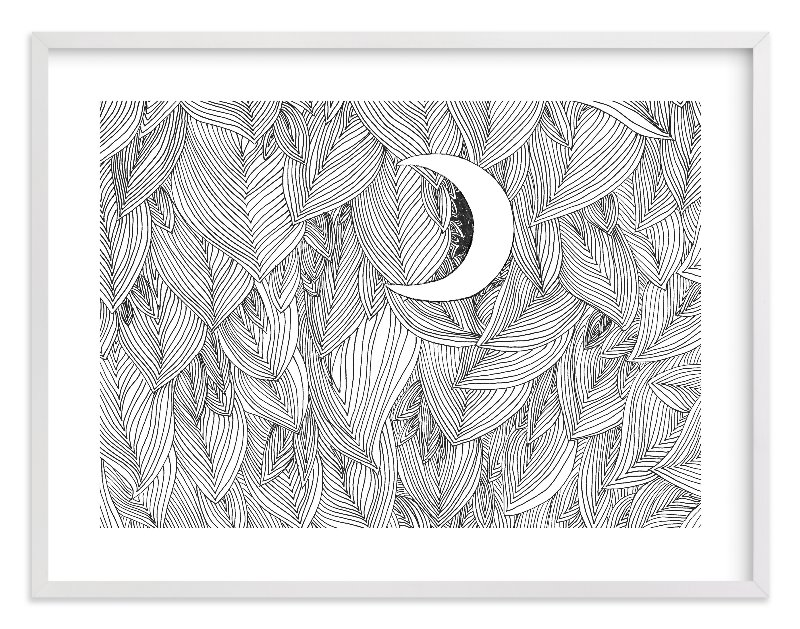 """Peek A Boo"" - Limited Edition Art Print by Helen H Wu in beautiful frame options and a variety of sizes."