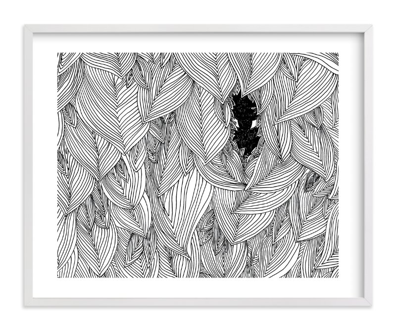 """""""behind the foliage"""" - Limited Edition Art Print by Helen H Wu in beautiful frame options and a variety of sizes."""
