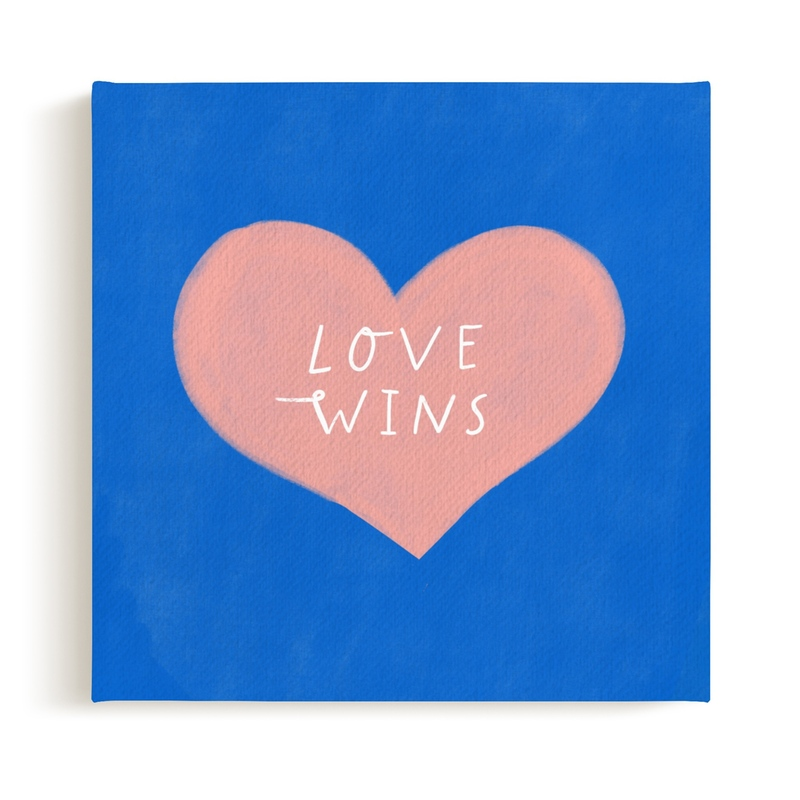 Love Wins Children's Art Print