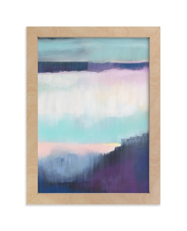 """Twilight Shimmer"" - Limited Edition Art Print by Alison Jerry Designs in beautiful frame options and a variety of sizes."
