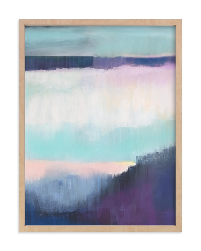 """""""Twilight Shimmer"""" - Limited Edition Art Print by Alison Jerry Designs in beautiful frame options and a variety of sizes."""