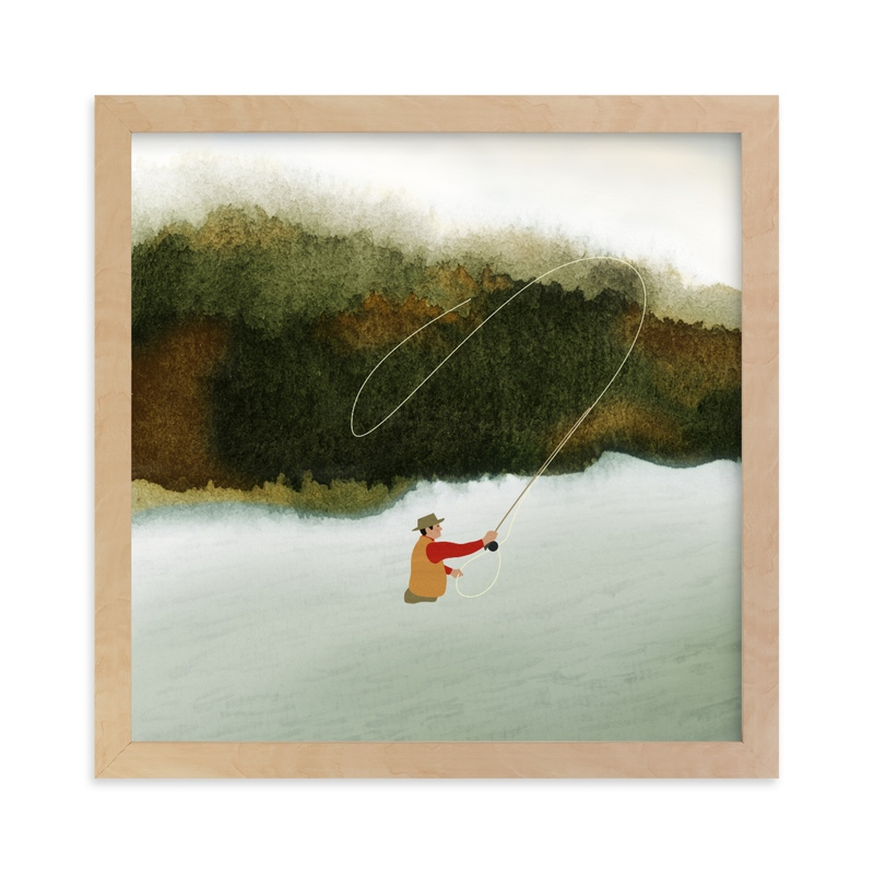 """""""Cast of One"""" - Limited Edition Art Print by Shannon in beautiful frame options and a variety of sizes."""