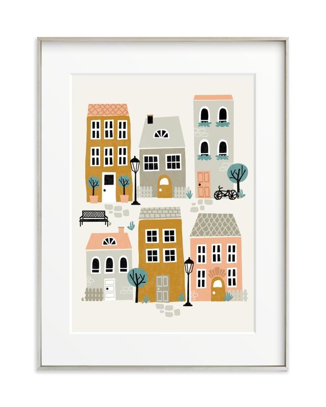 Little Town Children's Art Print